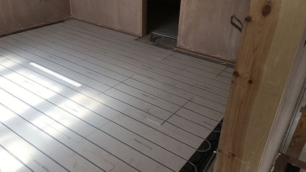 Underfloor Heating For Polypipe